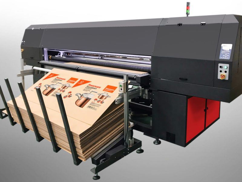 PF25 Industrial Inkjet Printer for Corrugated Board Printing