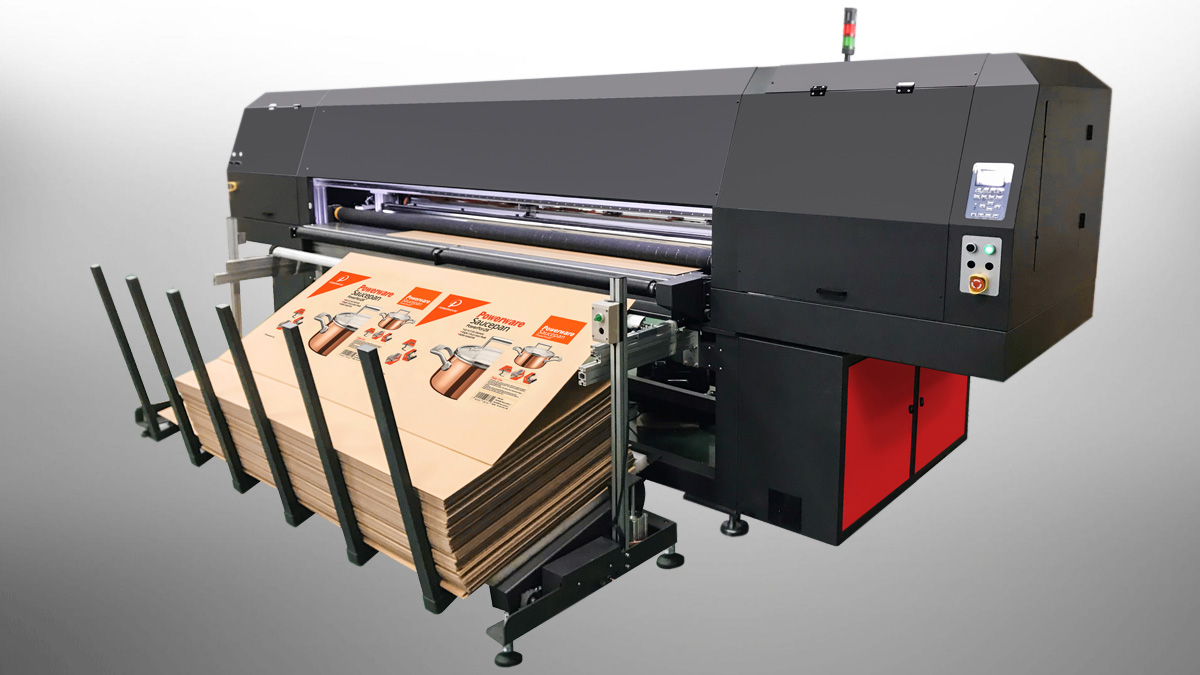PF25 Industrial Inkjet Printer for Corrugated Board Printing